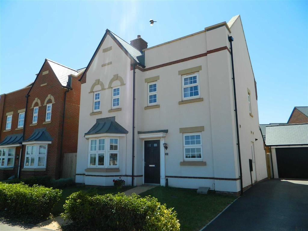 4 Bedrooms Detached House for sale in Normandy Row, Lillebonne Way, Wellington, Somerset, TA21