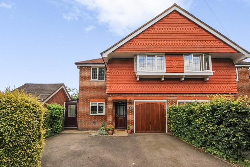 4 Bedrooms Semi Detached House for sale in Merland Rise, Epsom, Surrey. KT18 5RY