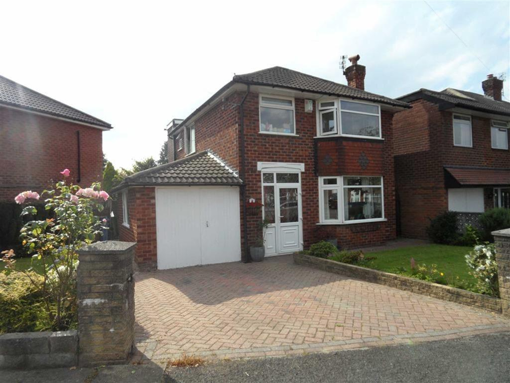 3 Bedrooms Detached House for sale in Westwood Road, Heald Green