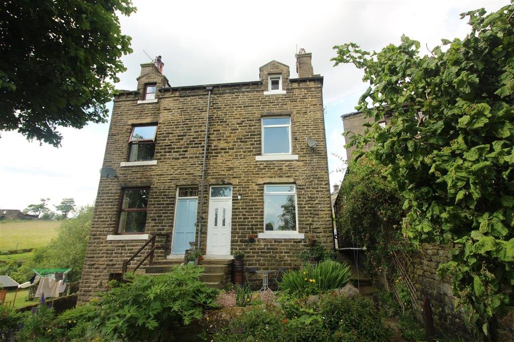 3 Bedrooms Semi Detached House for sale in Black Hill, Pecket Well, Hebden Bridge