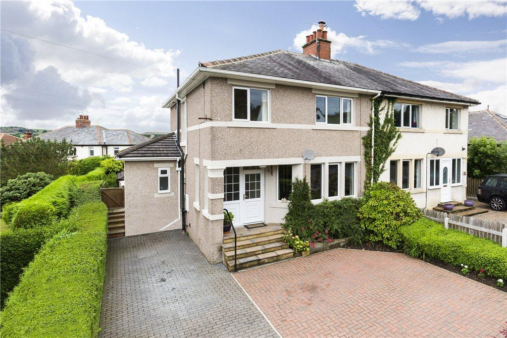 4 Bedrooms Semi Detached House for sale in Netherfield Road, Guiseley, Leeds, West Yorkshire