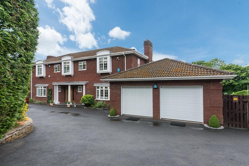 5 Bedrooms Detached House for sale in Glasllwch View, Newport, Newport. NP20 3RJ
