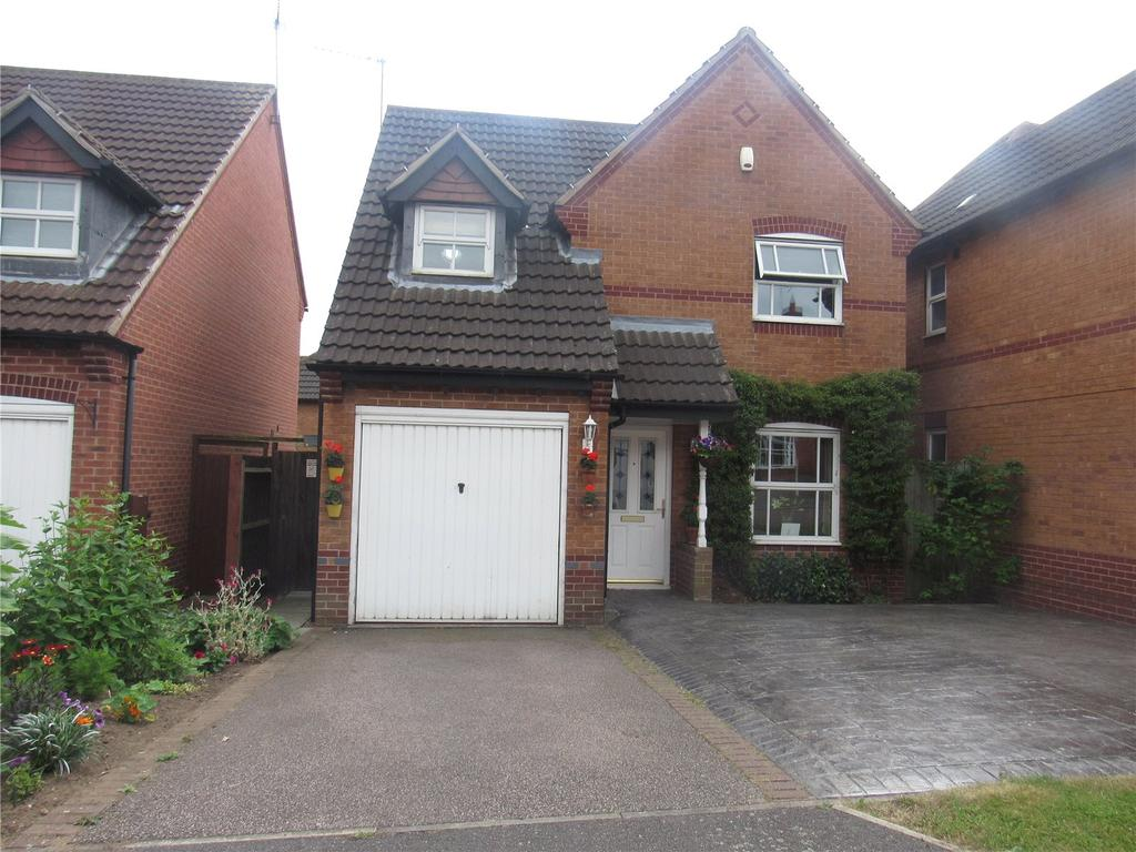 3 Bedrooms Detached House for sale in Bluebell Place, Mansfield Woodhouse, Nottinghamshire, NG19