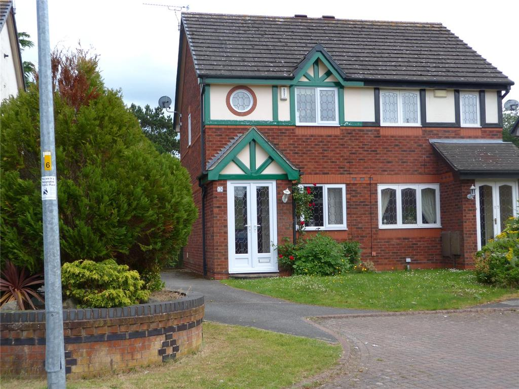 2 Bedrooms Semi Detached House for sale in Minster Court, Wistaston, Crewe, Cheshire, CW2