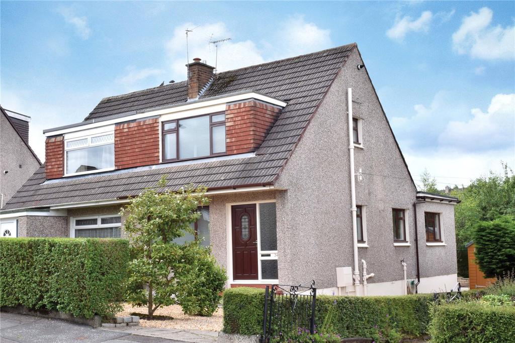 3 Bedrooms Semi Detached House for sale in Rosslyn Road, Bearsden, Glasgow