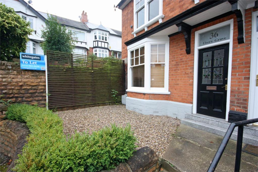 3 Bedrooms Semi Detached House for rent in Ebers Grove, Mapperley Park, Nottingham, NG3