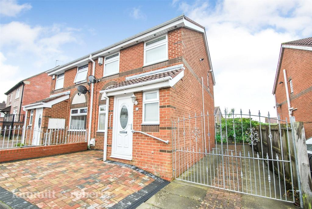 3 Bedrooms Semi Detached House for sale in Kirklea Road, Houghton le Spring, Tyne and Wear, DH5