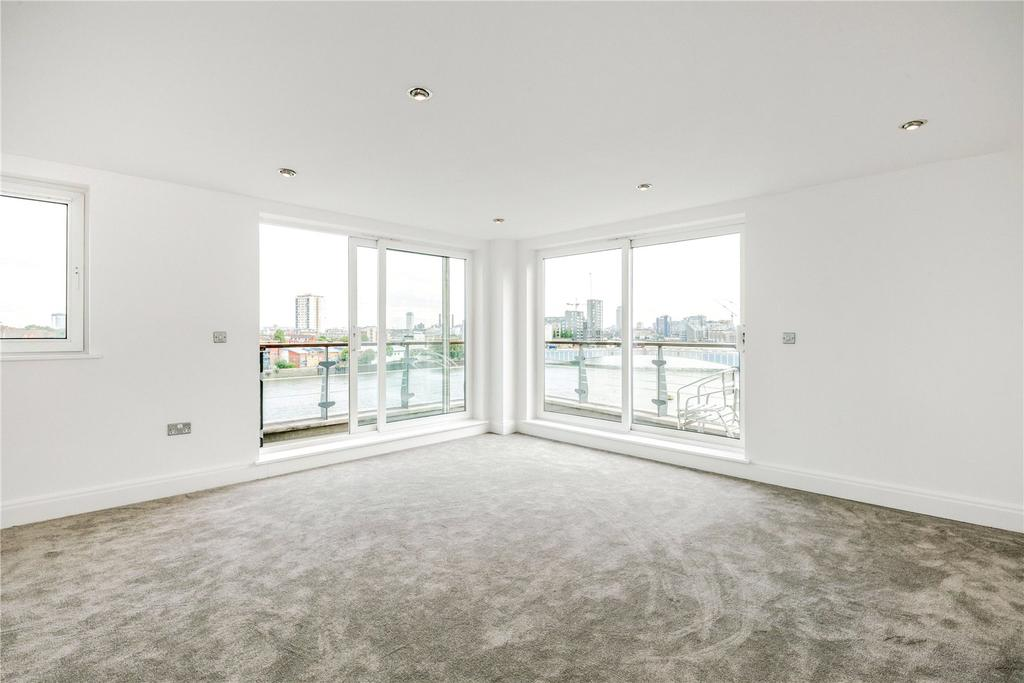3 Bedrooms Flat for sale in Anchor House, Smugglers Way, London, SW18