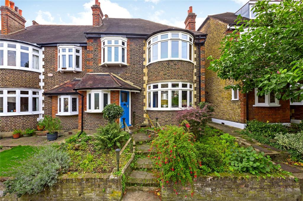4 Bedrooms Semi Detached House for sale in Percival Road, East Sheen, London, SW14