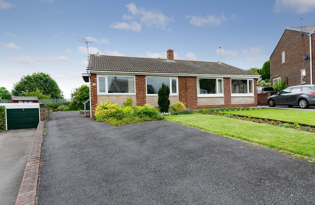 2 Bedrooms Semi Detached Bungalow for sale in Arncliffe Drive, Knottingley