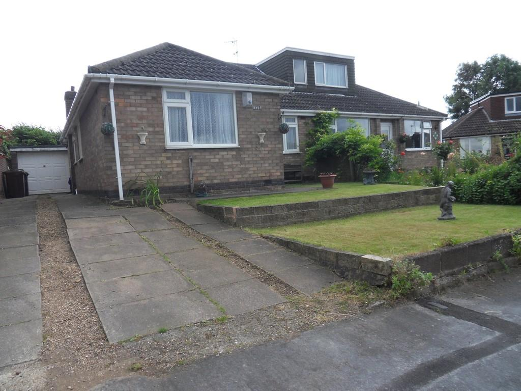 3 Bedrooms Semi Detached Bungalow for sale in Highgate Road, Sileby