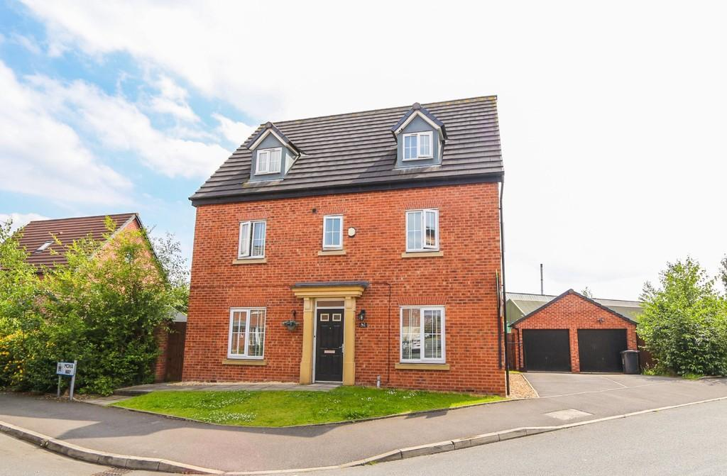 5 Bedrooms Detached House for sale in 2 Mona Way, Irlam, Manchester