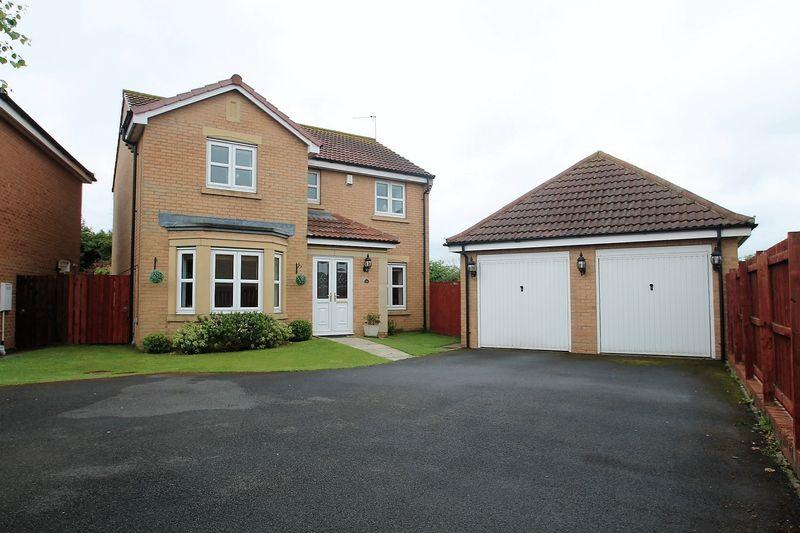4 Bedrooms Detached House for sale in Hardy Grove, Billingham