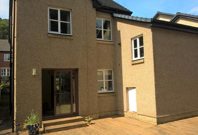 4 Bedrooms Detached House for sale in 18 Annfield Gardens, Galashiels, TD1 3DE