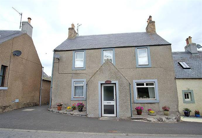 3 Bedrooms Semi Detached House for sale in Clorabank Main Street, Oxton, TD2 6PN