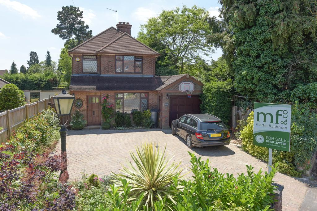 3 Bedrooms Detached House for sale in Bowes Road, WALTON ON THAMES KT12