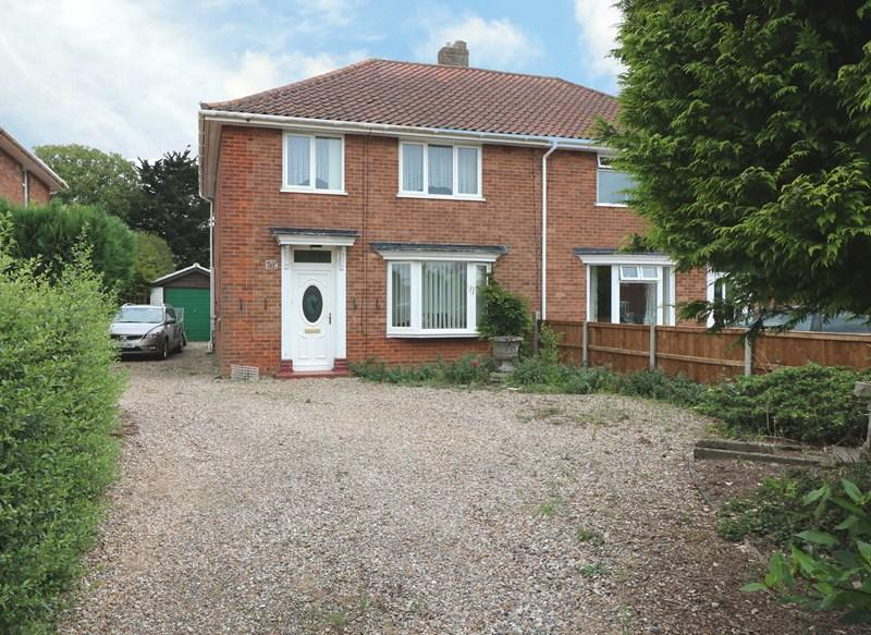 3 Bedrooms Semi Detached House for sale in Melton Road, Wymondham