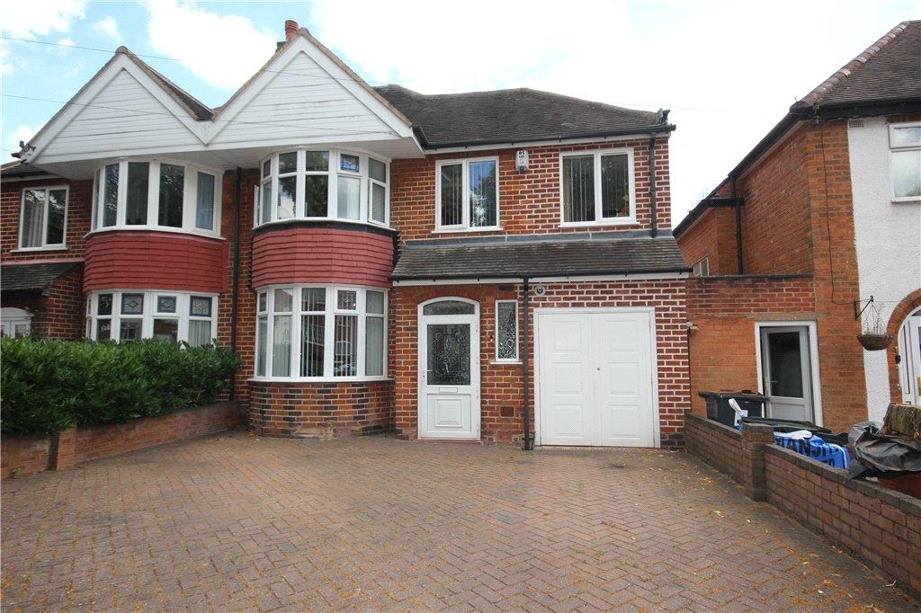 4 Bedrooms Semi Detached House for sale in Glen Rise, Birmingham, West Midlands, B13