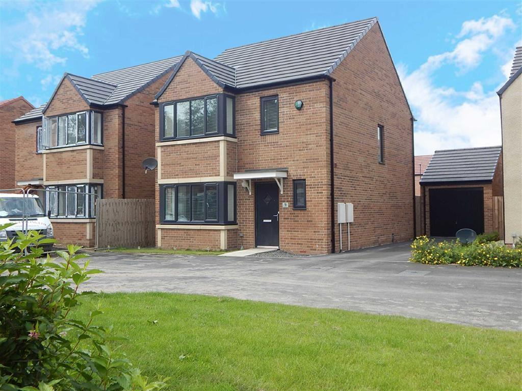 4 Bedrooms Detached House for sale in Walkerfield Place, Poplar Grove, Newcastle Upon Tyne, NE6