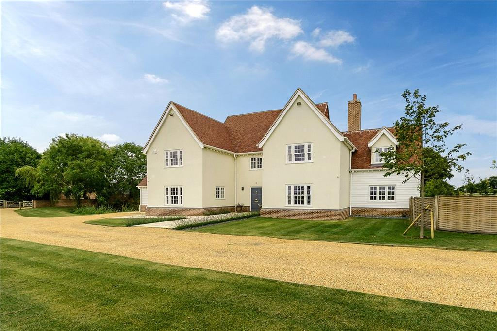 6 Bedrooms Detached House for sale in New House Lane, Ashdon, Saffron Walden, Essex, CB10