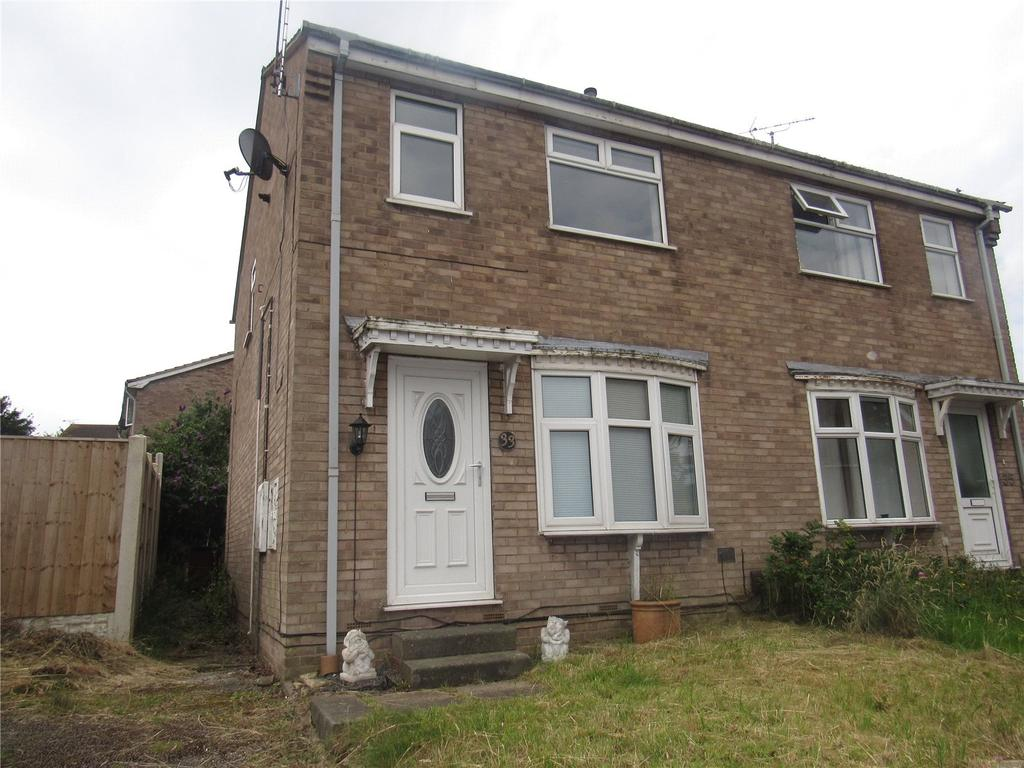 3 Bedrooms Semi Detached House for sale in Almond Rise, Forest Town, Mansfield, Nottinghamshire, NG19