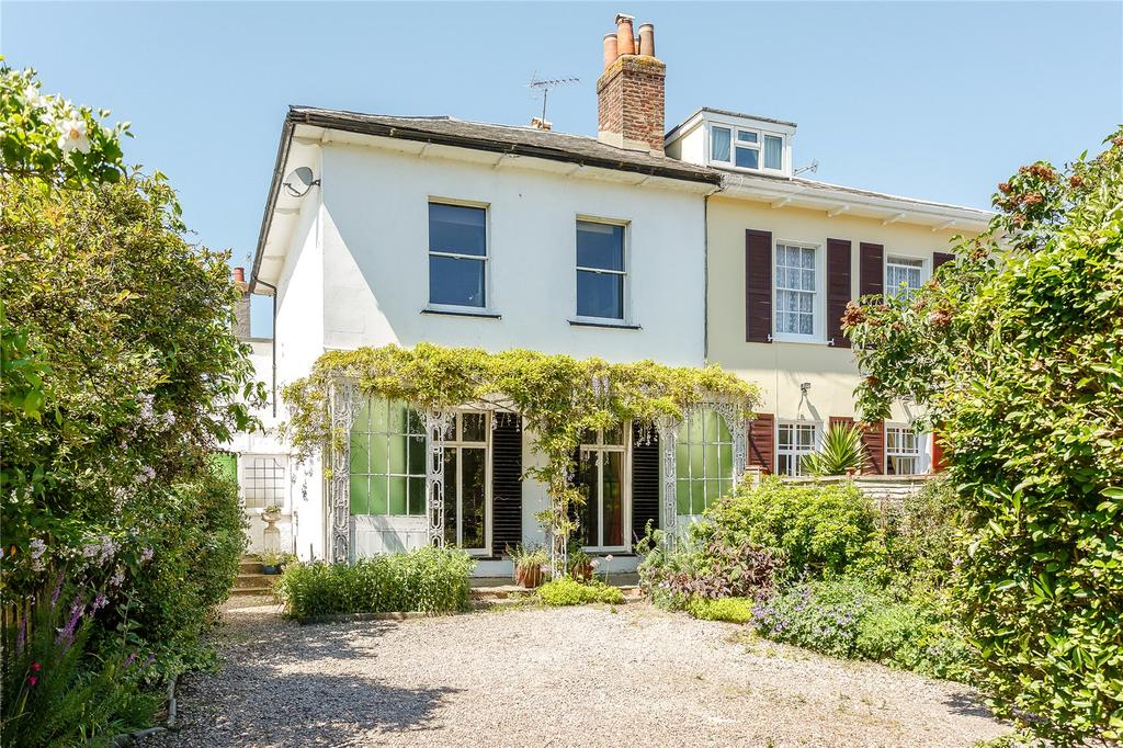 4 Bedrooms Semi Detached House for sale in St. Leonards Road, Exeter
