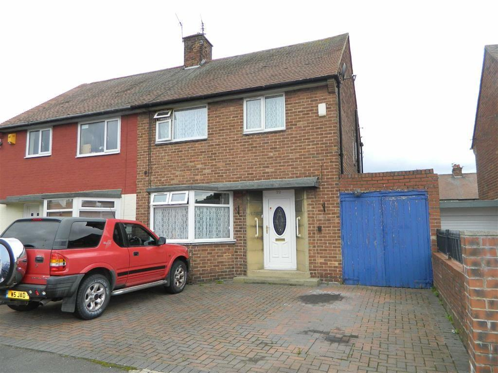 3 Bedrooms Semi Detached House for sale in Bellister Road, North Shields, Tyne And Wear, NE29