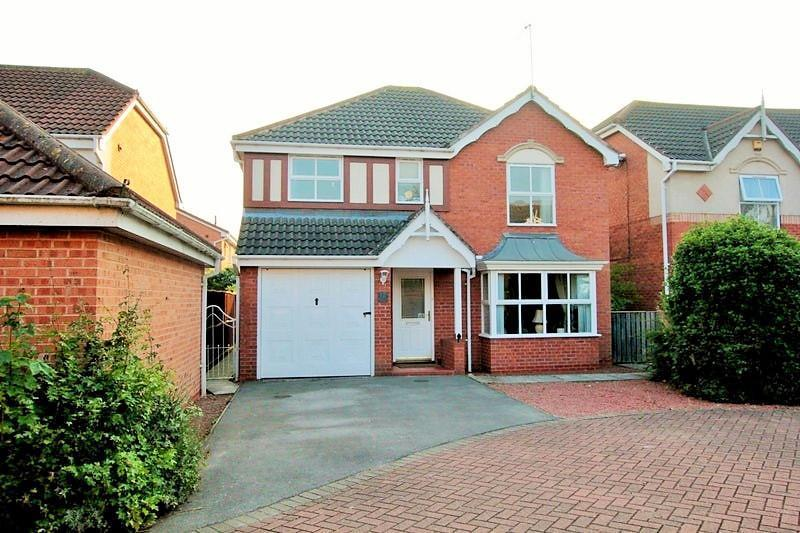 4 Bedrooms Detached House for sale in Harewood Close, Rawcliffe, York