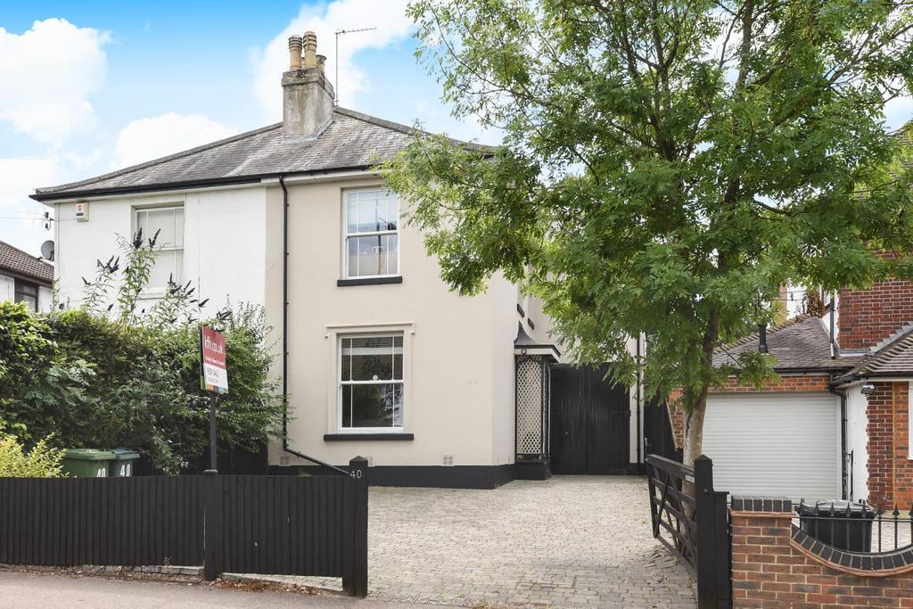 4 Bedrooms Semi Detached House for sale in Heathfield Road, Keston, BR2
