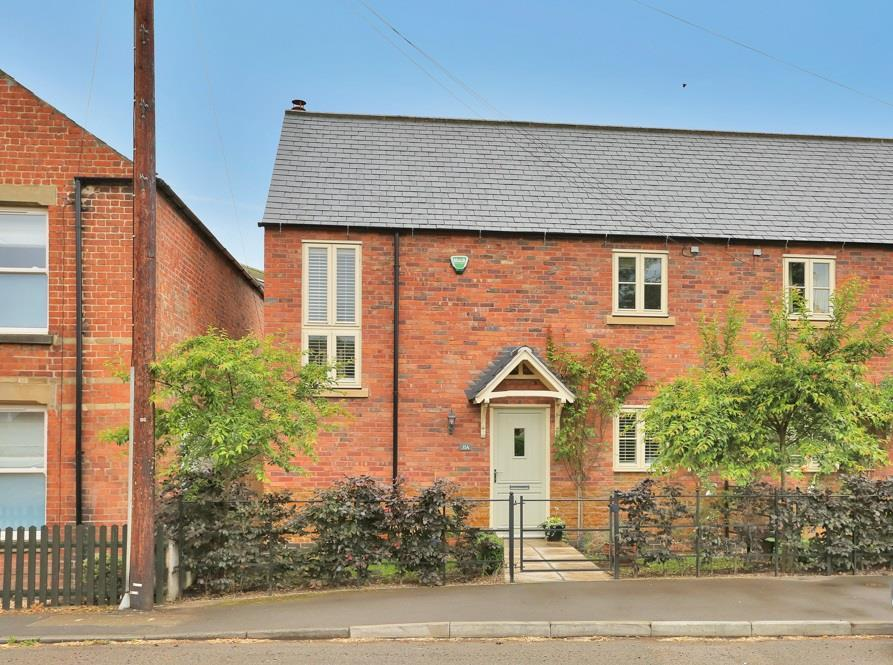 3 Bedrooms Semi Detached House for sale in Main Street, Harby, Melton Mowbray
