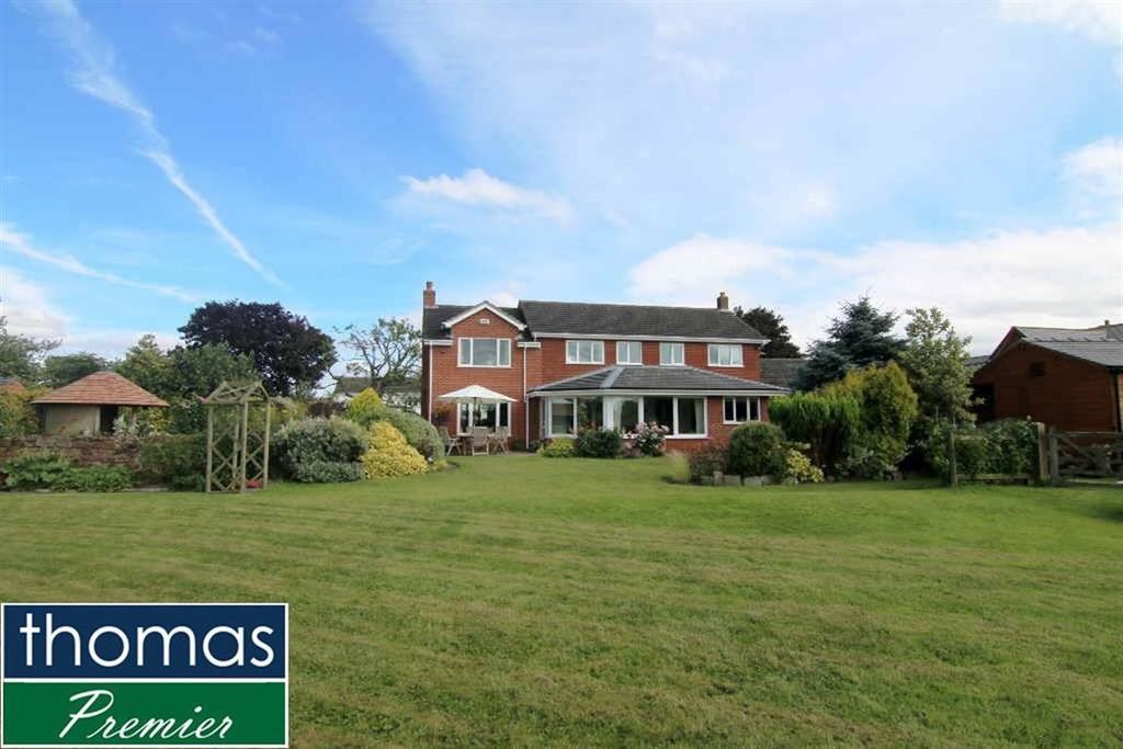 5 Bedrooms Detached House for sale in Frodsham Road, Alvanley