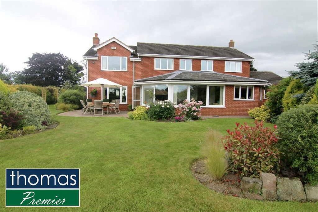 4 Bedrooms Detached House for sale in Frodsham Road, Alvanley
