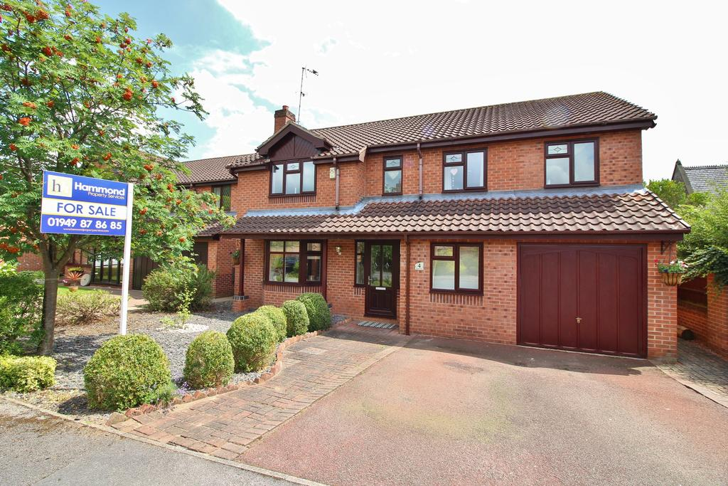 4 Bedrooms Detached House for sale in Bramley Close, Gunthorpe NG14