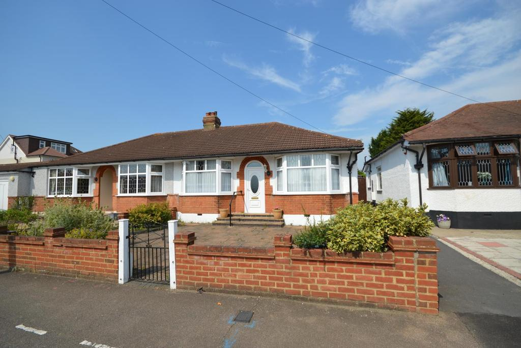 2 Bedrooms Semi Detached Bungalow for sale in Macdonald Avenue, Hornchurch, Essex, RM11
