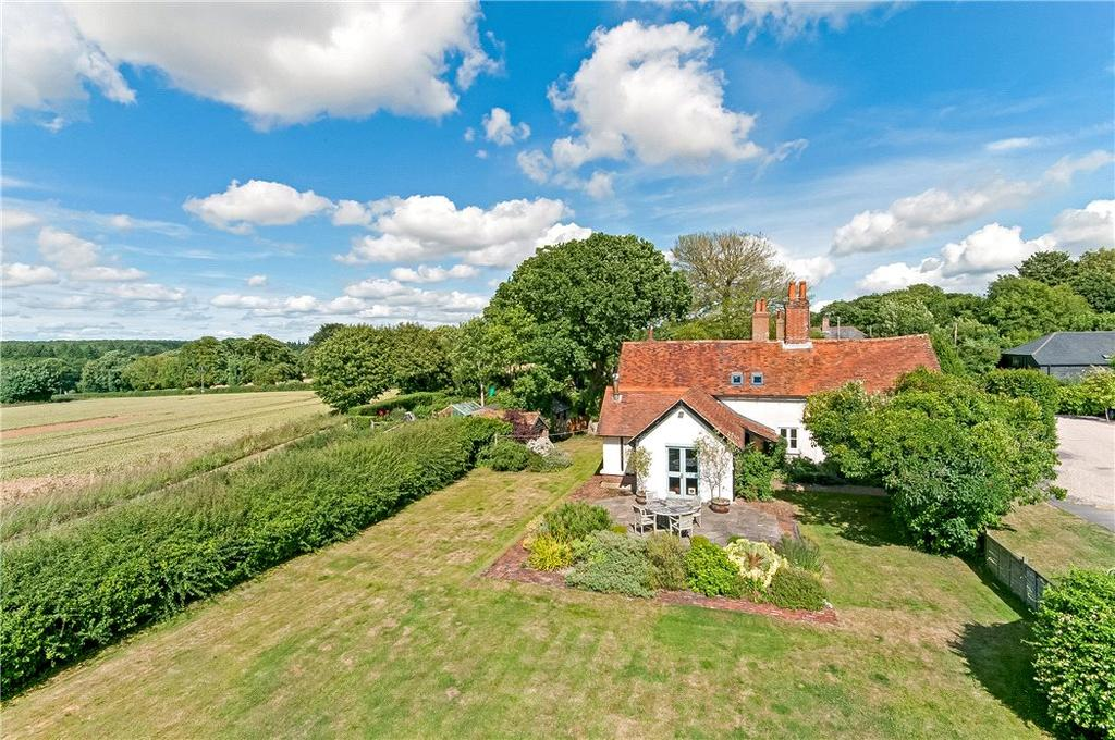 4 Bedrooms Semi Detached House for sale in Parkhill Farm Cottages, West Stratton, Winchester, Hampshire, SO21