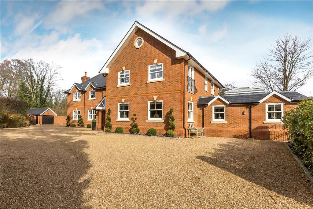 6 Bedrooms Detached House for sale in Coxhill Green, Chobham, Woking, Surrey, GU24