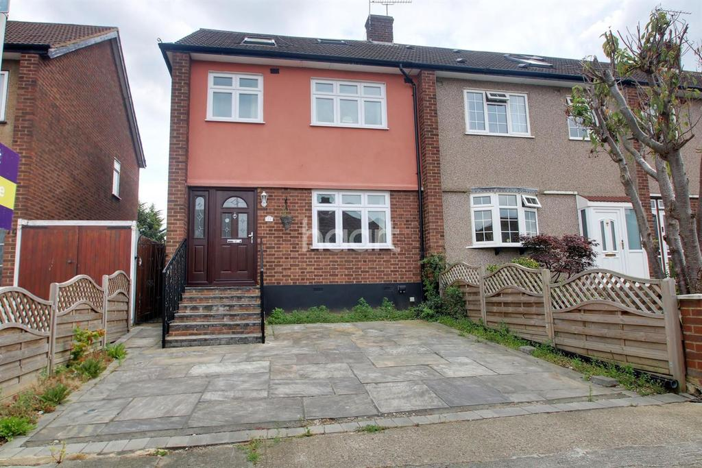 4 Bedrooms End Of Terrace House for sale in Rutland Drive, Hornchurch