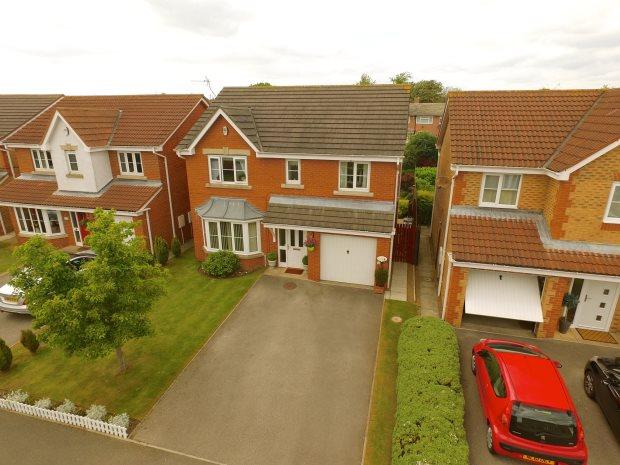 4 Bedrooms Detached House for sale in ABBEYDALE GARDENS, SOUTH HETTON, PETERLEE AREA VILLAGES