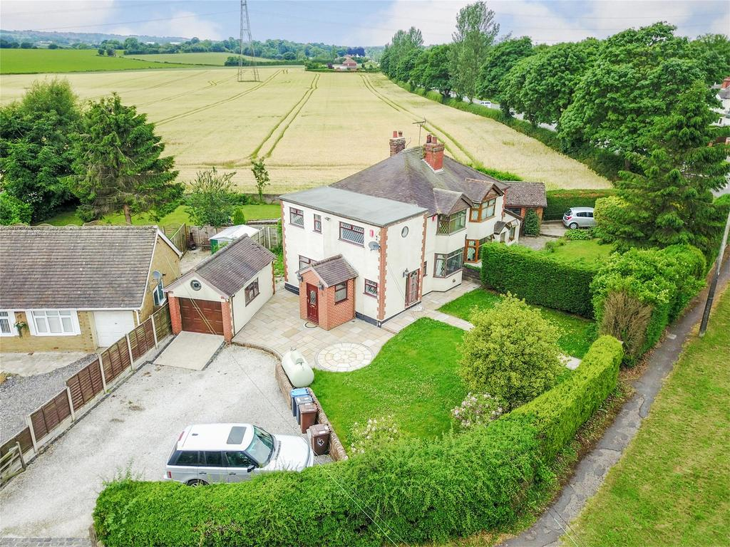 4 Bedrooms Semi Detached House for sale in Cresswell Lane, Draycott, Staffordshire