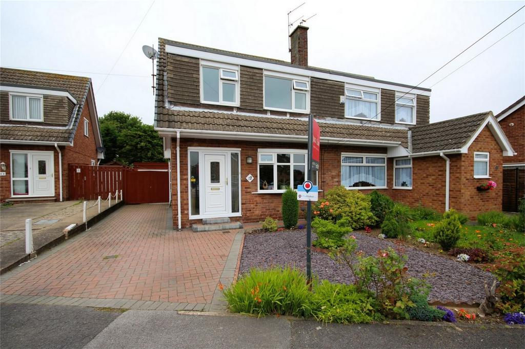 3 Bedrooms Semi Detached House for sale in Eden Rise, Willerby, Hull, East Riding of Yorkshire