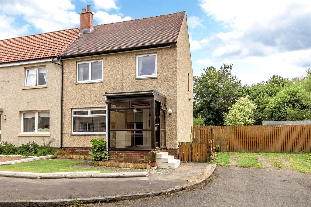 3 Bedrooms End Of Terrace House for sale in 21 Binniehill Road, Slamannan, Falkirk, FK1