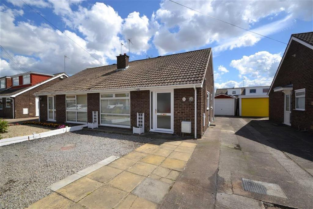 2 Bedrooms Semi Detached Bungalow for sale in Saxondale, Anlaby Common, East Riding Of Yorkshire