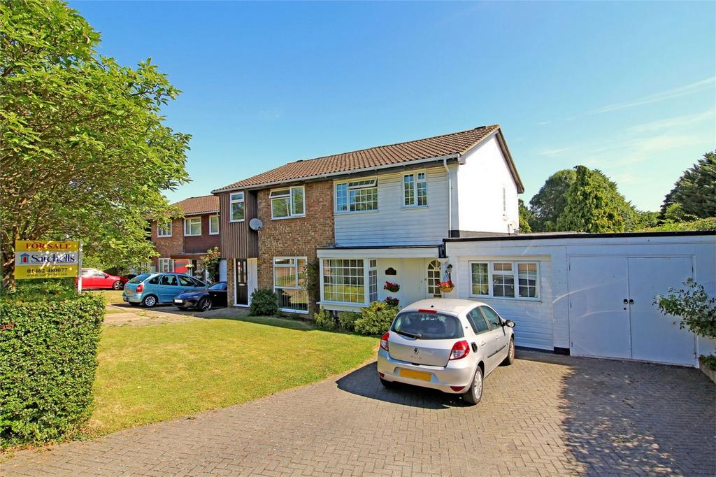 4 Bedrooms Semi Detached House for sale in Penn Way, Letchworth Garden City, Hertfordshire