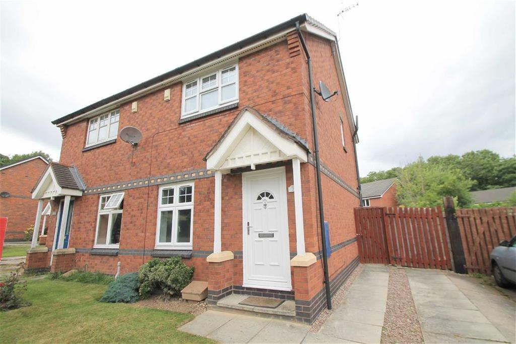 2 Bedrooms Semi Detached House for sale in Oldwood, New Broughton, Wrexham