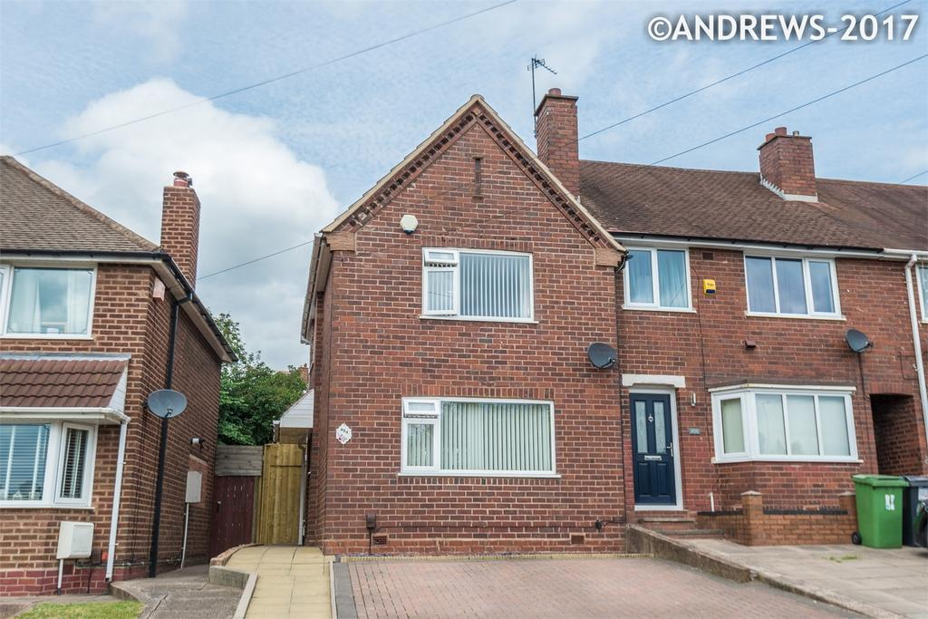 2 Bedrooms End Of Terrace House for rent in Queslett Road, Great Barr, BIRMINGHAM