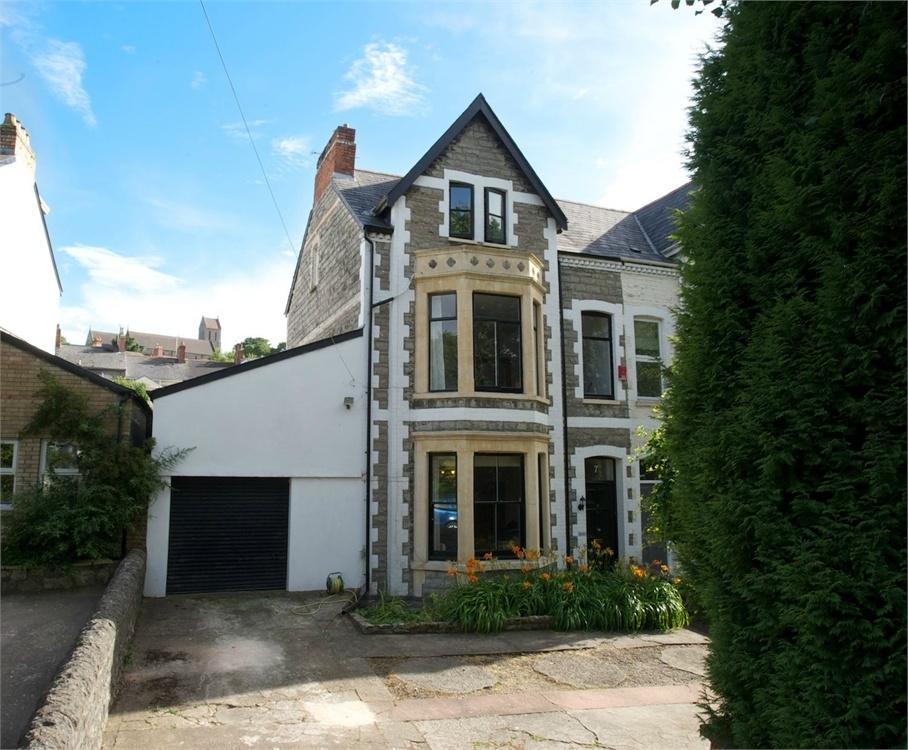 5 Bedrooms Semi Detached House for sale in Paget Place, Penarth