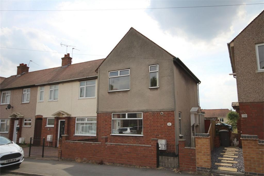 3 Bedrooms End Of Terrace House for sale in Westbury Road, Stockingford, Nuneaton, Warwickshire