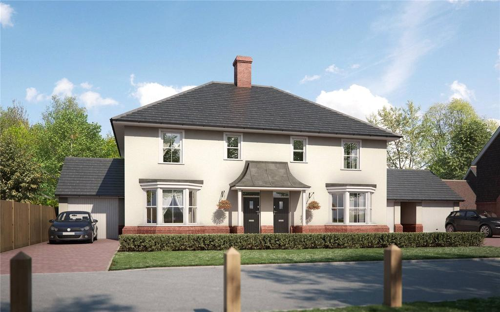 3 Bedrooms Semi Detached House for sale in Malthouse Lane, Meath Green Lane, Horley, Surrey, RH6