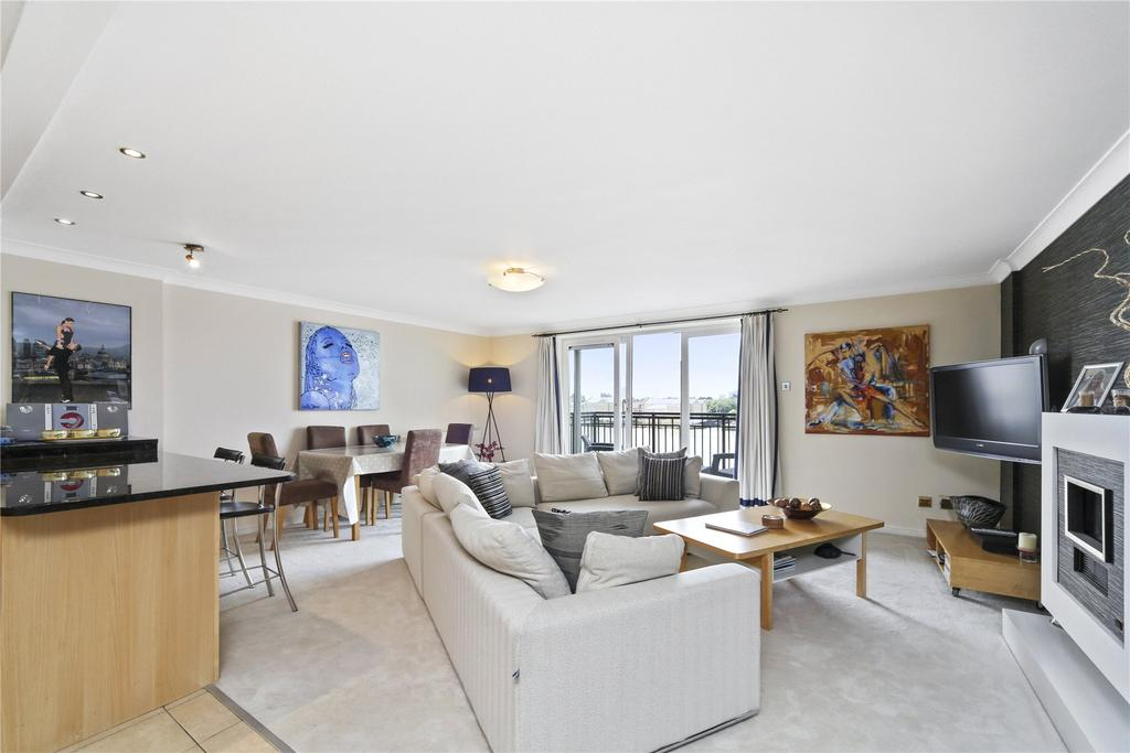2 Bedrooms Flat for sale in Victoria Wharf, 46 Narrow Street, London, E14