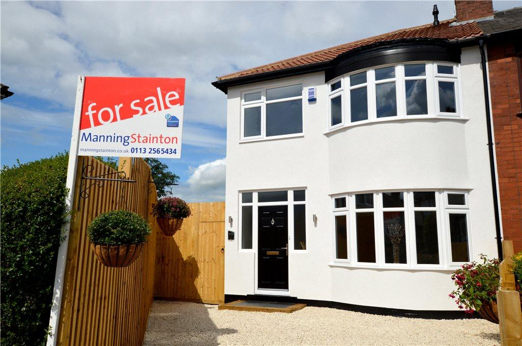 3 Bedrooms Semi Detached House for sale in Blairsville Gardens, Leeds, West Yorkshire